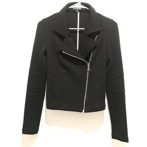 Express Black Motor Jacket